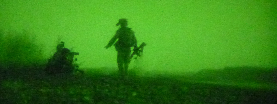 Partnered Marine ANSF ambush